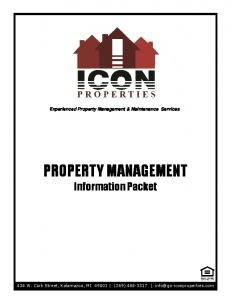 Experienced Property Management & Maintenance Services