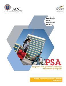 Experiencias de los facilitadores del PSA