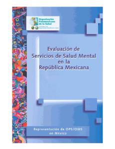 EXPERIENCIAS EN LOS HOSPITALES GENERALES E INSTITUTOS