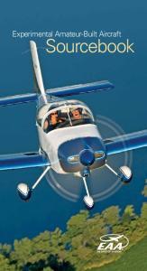 Experimental Amateur-Built Aircraft. Sourcebook