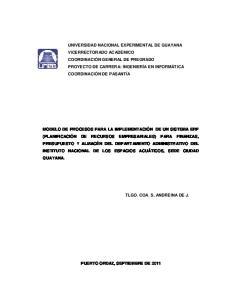 EXPERIMENTAL DE GUAYANA