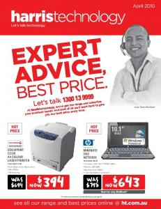 expert advice, best price. 10.1