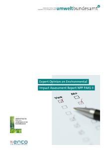 Expert Opinion on Environmental Impact Assessment Report NPP PAKS II