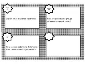 Explain what a valence electron is. How are periods and groups different from each other?