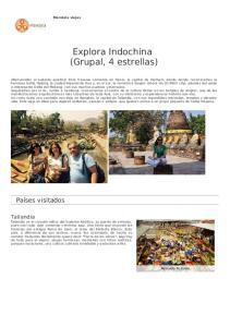 Explora Indochina (Grupal, 4 estrellas)