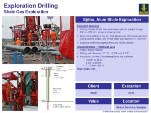 Exploration Drilling Shale Gas Exploration