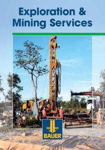 Exploration & Mining Services