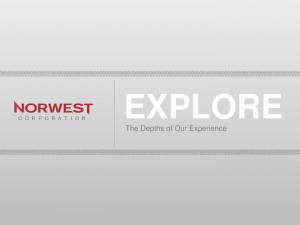 EXPLORE The Depths of Our Experience. EXPLORE the Depths of our Experience