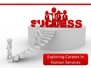 Exploring Careers in Human Services