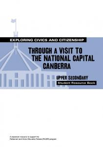 EXPLORING CIVICS AND CITIZENSHIP
