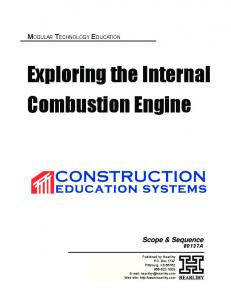 Exploring the Internal Combustion Engine
