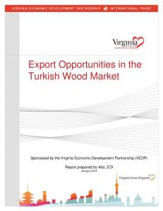 Export Opportunities in the Turkish Wood Market
