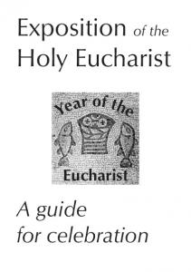 Exposition of the Holy Eucharist