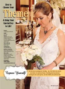 Express Yourself! How to Choose Your. & Bring Your Special Day to Life!