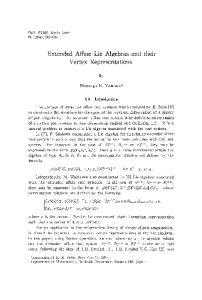 Extended Affine Lie Algebras and their Vertex Representations