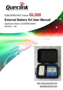 External Battery Kit User Manual