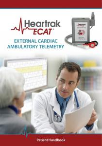 EXTERNAL CARDIAC AMBULATORY TELEMETRY