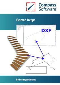 Externe Treppe DXF. Bedienungsanleitung