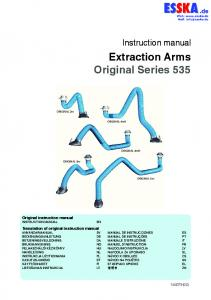 Extraction Arms Original Series 535