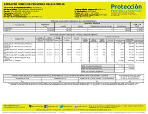 EXTRACTO FONDO DE PENSIONES OBLIGATORIAS