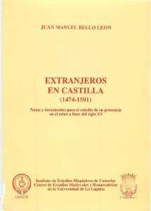 EXTRANJEROS EN CASTILLA