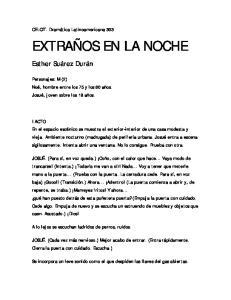 EXTRAÑOS EN LA NOCHE