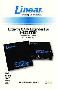 Extreme CAT5 Extender For