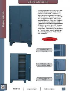 Extreme Duty Cabinets. Storage Cabinets