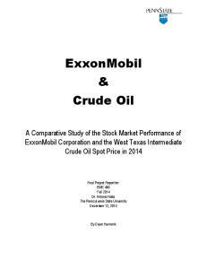 ExxonMobil & Crude Oil