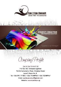 Eye 2 Eye Consult DESIGN PRINT PR & MARKETING
