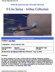 F-Lite Series - Airbus Collection