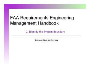 FAA Requirements Engineering Management Handbook!