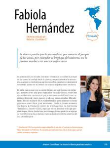 Fabiola Hernández. Venezuela