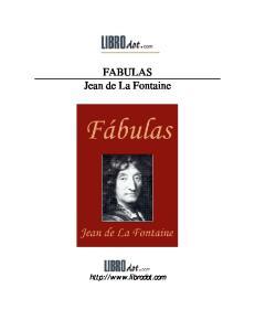 FABULAS Jean de La Fontaine