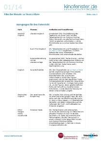 Fach Themen Methoden und Sozialformen