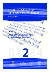 Facilitador de la reforma previsional