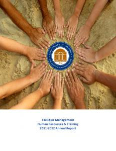 Facilities Management Human Resources & Training Annual Report