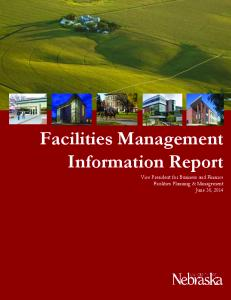 Facilities Management Information Report
