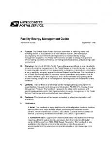 Facility Energy Management Guide