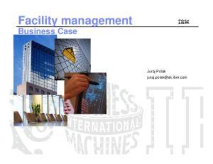 Facility management Business Case