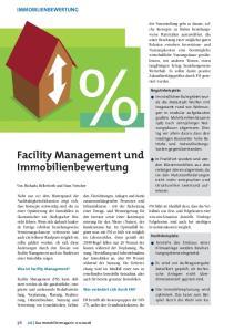 Facility Management und Immobilienbewertung