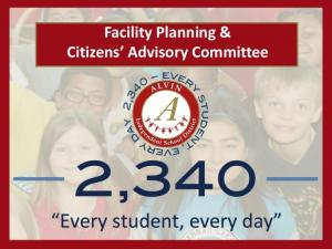 Facility Planning & Citizens Advisory Committee