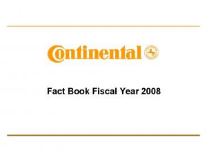 Fact Book Fiscal Year 2008