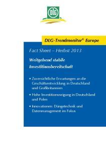Fact Sheet Herbst 2013