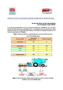 Factores a tener en cuenta para aumentar la eficiencia de cosecha de sorgo
