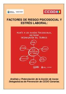 FACTORES DE RIESGO PSICOSOCIAL Y ESTRÉS LABORAL: