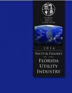 Facts & Figures o f t h e Florida Utility Industry