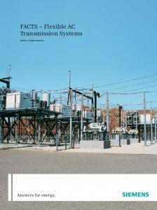 FACTS Flexible AC Transmission Systems