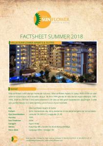 FACTSHEET SUMMER 2018