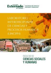 facultad de ciencias sociales y humanas LABORATORIO INTERDISCIPLINAR DE CIENCIAS Y PROCESOS HUMANOS (LINCIPH) FACULTAD DE CIENCIAS SOCIALES Y HUMANAS